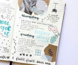 inspiration, planner, and motivation image