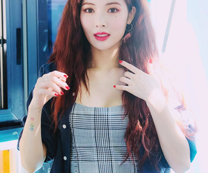 hyuna, korean, and kpop image