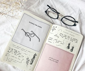 cozy, glasses, and planner image