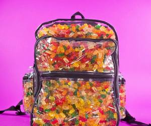 gummy, backpack, and cool image