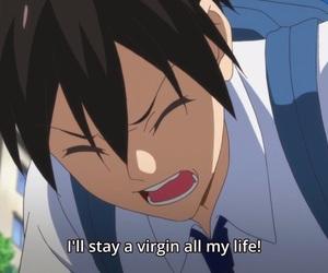 anime, virgin, and hajimete no gal image