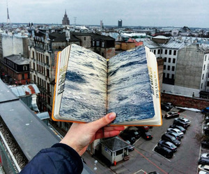 book, art, and city image