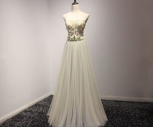 evening dress, flower, and 2017 image