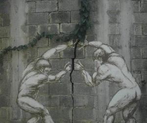 art, wall, and street art image
