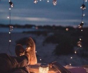 light, night, and adventure image