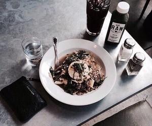 food, vogue, and dark image