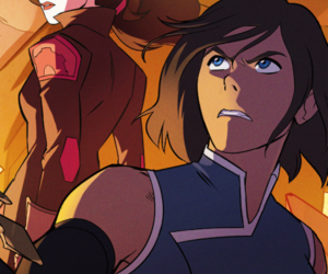 avatar, the legend of korra, and asami sato image