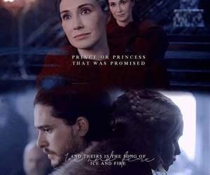 prince, jon snow, and princess image