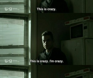 crazy, quotes, and tv show image