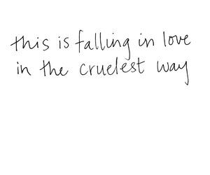 art, falling in love, and handwriting image