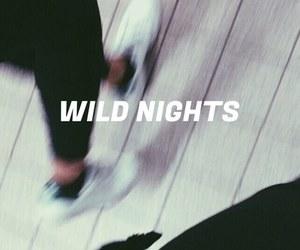 night, wild, and grunge image