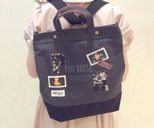 bag, kawaii, and pink image
