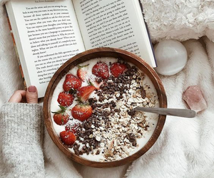 food and book image