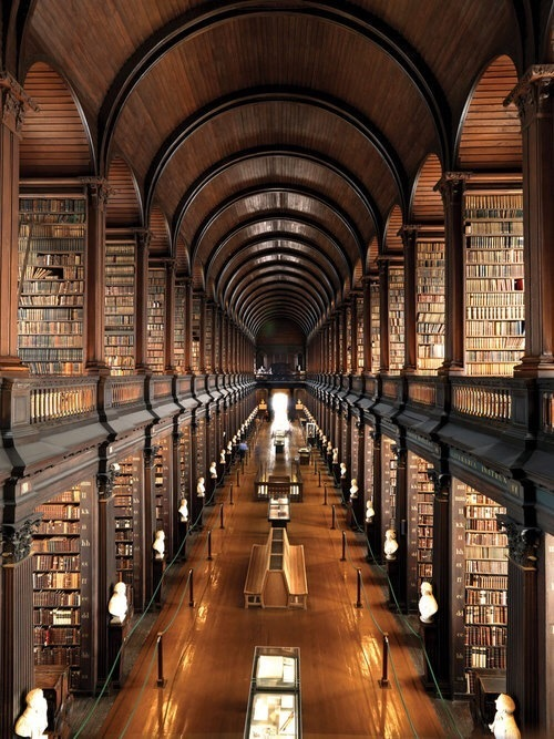 book, library, and ireland image