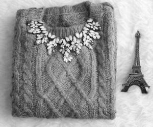 fashion, paris, and sweater image