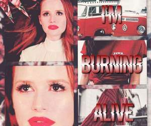 edit, cheryl blossom, and fire image