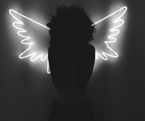 light, angel, and photography image