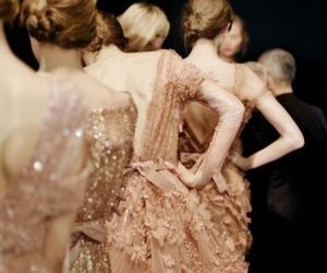 dress, model, and elie saab image