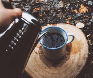 coffee, autumn, and nature image