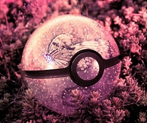 pokemon, butterfly, and pink image