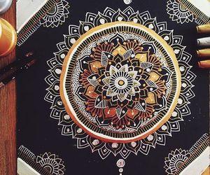 art, mandalas, and ~ image