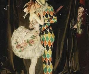 circus and harlequin image