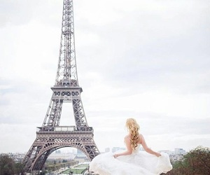 bridal, romantic, and france image