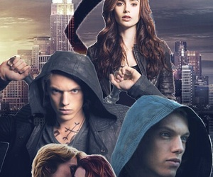 jace, Jamie Campbell Bower, and new york image