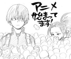 boku no hero academia, anime, and manga image