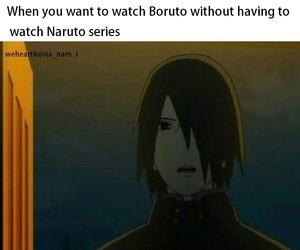 anime, naruto, and funny image