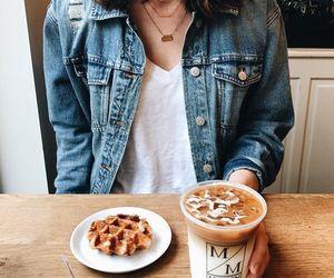 coffee, food, and girl image