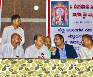 The Bangalore City Jetty Community Dodda Garadi & Nimijambaja Devi Temple Trust (R) - Matti Pooje Festival at Bangalore -  Chiranjeevi Jetty