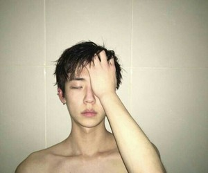aesthetic, korean, and wet image