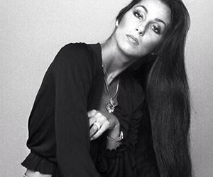 black and white and cher image