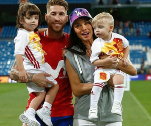 family, football, and kid image