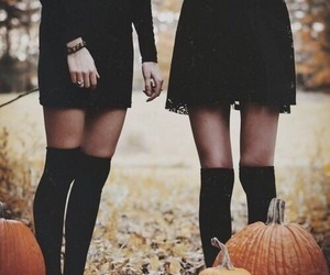Halloween, pumpkin, and black image