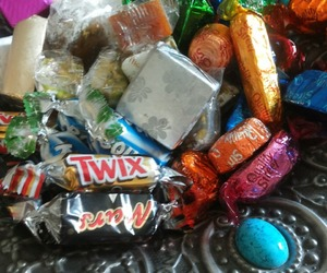 candies, chocolate, and mars image