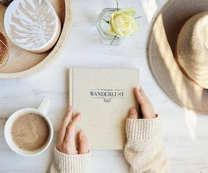autumn, beige, and book image