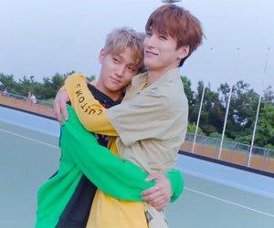 boys, hug, and kpop image