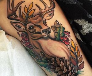 deer tattoo image