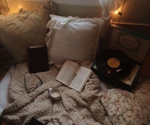 book, cozy, and autumn image