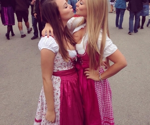 blonde, brownie, and dirndl image