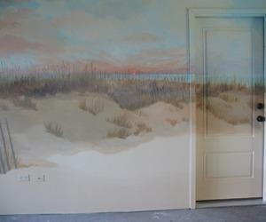 art, room, and door image