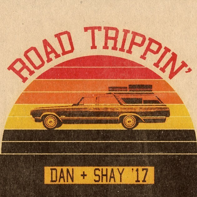 obsessed, road trippin, and dan + shay image