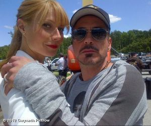 iron man, robert downey jr, and gwyneth paltrow image