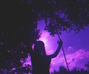 purple, tumblr, and aesthetic image