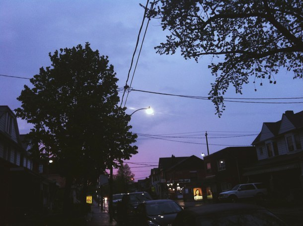 sky, grunge, and night image