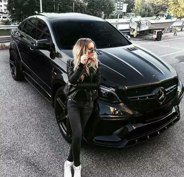 luxury, black, and car image