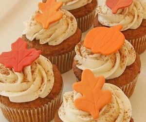 autumn, cupcake, and fall image