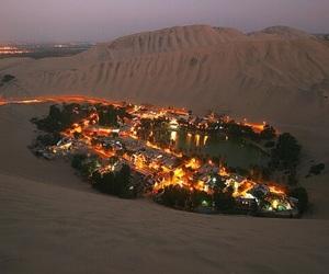 city, light, and sand image